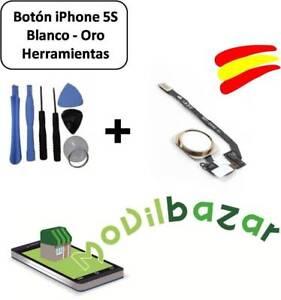 BOTON-HOME-FLEX-IPHONE-5S-BLANCO-ORO-CON-KIT-HERRAMIENTAS-DESDE-ESPANA