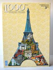 Jigsaw Puzzles France Paris Eiffel Tower Shaped Puzzle 1000 Pieces 3 Feet