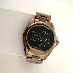 Michael-Kors-Access-Touchscreen-MKT5007-Bradshaw-Smartwatch-Brown-Stainless-Watc