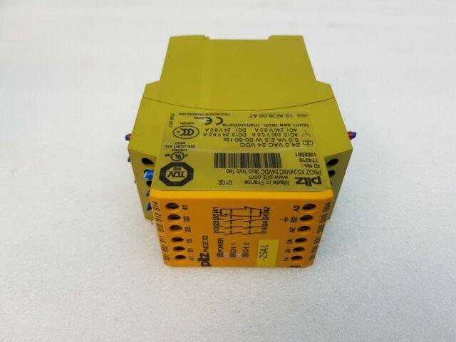 PILZ PNOZ X3 24VAC 24VDC 774310