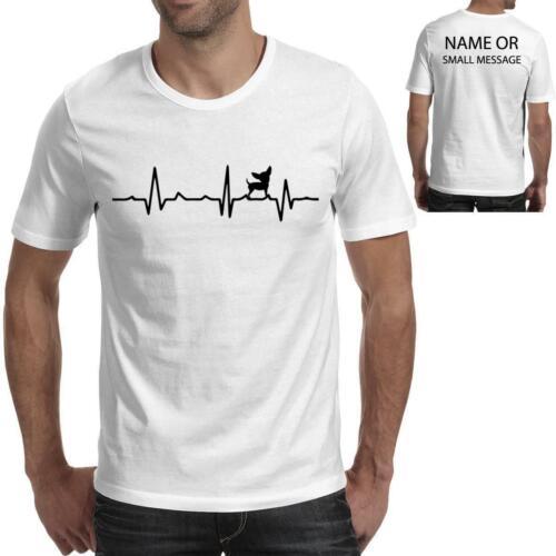 Chihuahua Heart Love BeatHeart Love Beat Funny Tee Printed Gift T-Shirt
