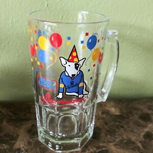 1987 Party Animal Spuds MacKenzie Beer Mug Anheuser-Busch Bud Light Budweiser