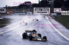 RONNIE PETERSON LOTUS JPS 76 Gran Premio di Spagna 1974 fotografia 4