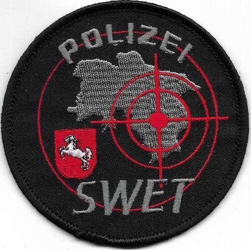 Polizei  SWET Niedersachsen Abzeichen Patch SEK SIK SWAT SchusswaffenEinsatzTr.