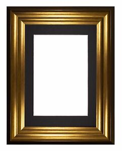 Bucharest-Range-Wide-Frame-Picture-Photo-Frames-Decor-With-Mount-Gold