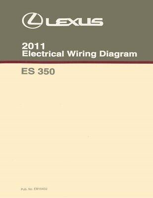 2011 Lexus ES 350 Wiring Diagrams Schematics Layout Factory OEM | eBayeBay