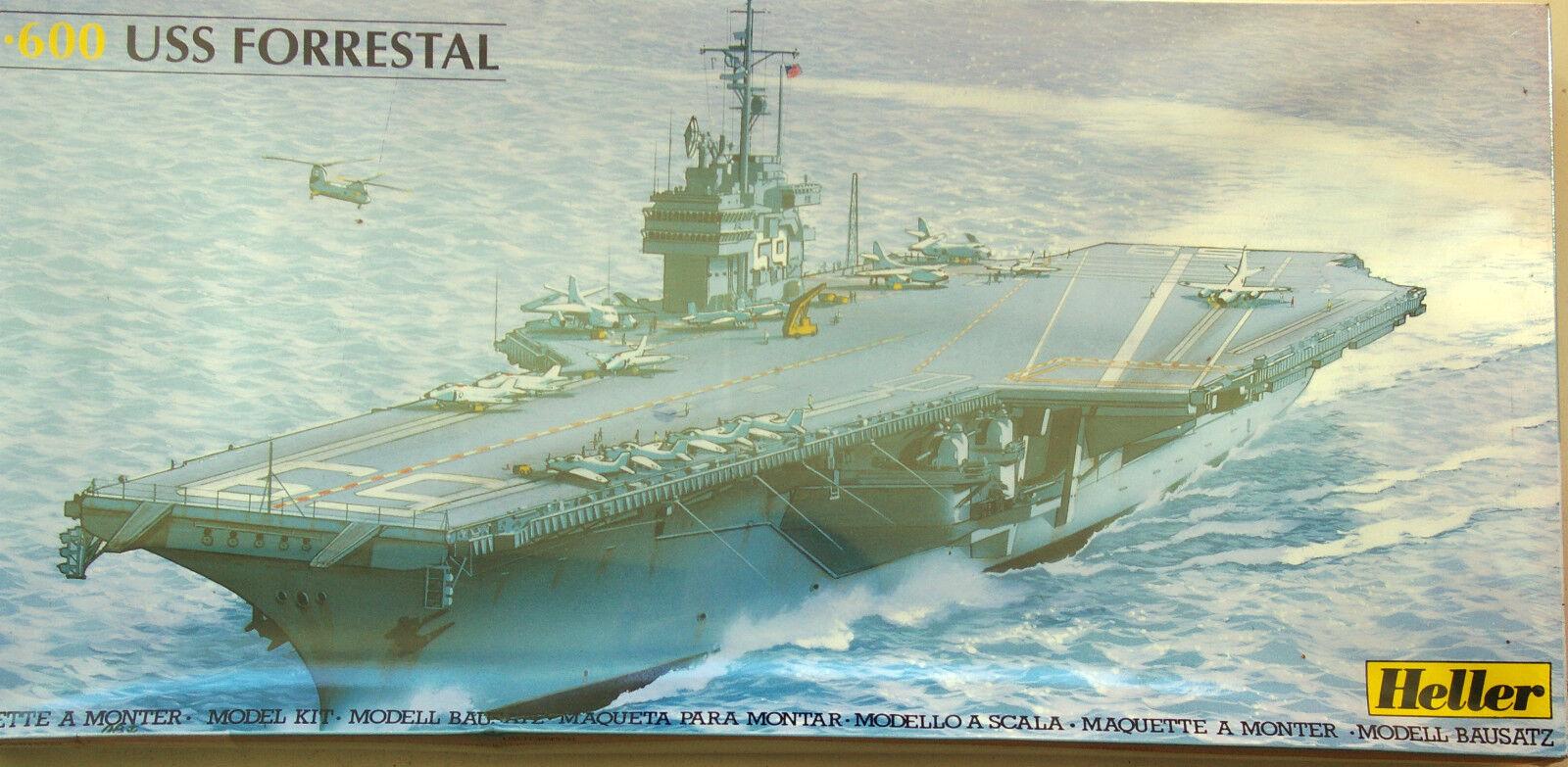 GRAN MAQUETA 1 600 PORTAAVIONES USS FORRESTAL