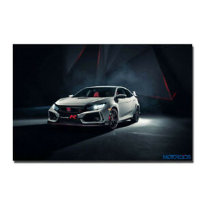 2017-HONDA-CIVIC-TYPE-R-Silk-Wall-Poster-Print-13x20inches