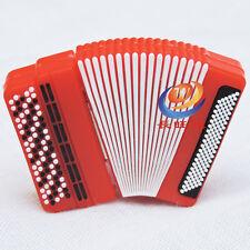 Instrumento Musical Acordeón Rojo 16Gb Unidad Flash Memoria Portátil Usb Novedad Regalo