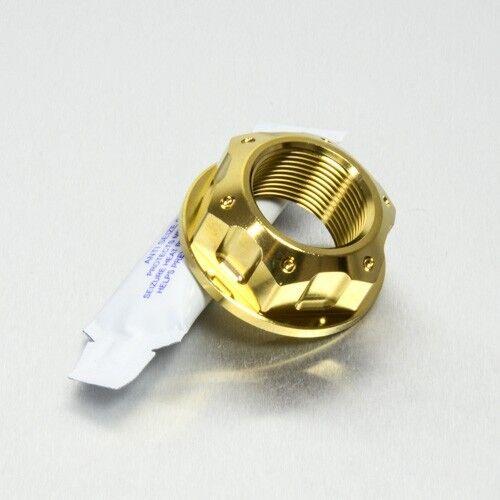 Pro-Bolt SS Axle Nut M25 x1.5 Rear Wheel Gold Suz GSX-R1000 K5-K6 05-06