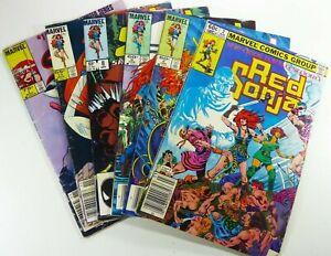 Marvel-RED-SONJA-1982-Vol-2-2-1983-Vol-3-5-6-8-11-1985-1-LOT-Ships-FREE