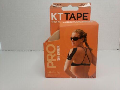 10 Inch Precut 20 Strips KT Tape Pro Stealth Beige 1 Roll