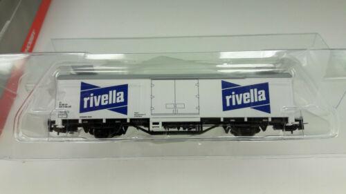 Piko H0 58783 gedeckter Güterwagen Rivella der SBB NEU und OVP