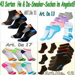 """1-24P Damen Sneaker Kurz Socken Füßlinge Sneakersocken Baumwollsocken Herren   """""""