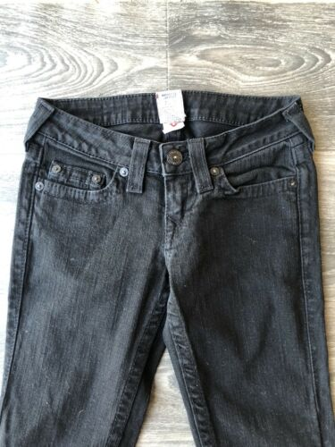 True per 26 Size Religion Jeans Black donna aderenti Wash wZqqBT