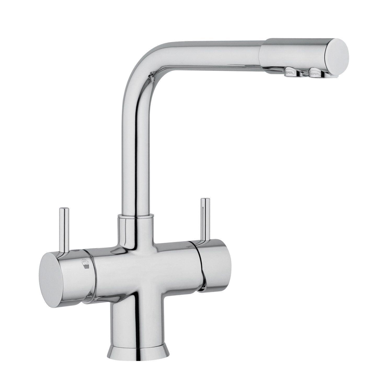 5 voies robinet nobius L-parcours extérieur chrome fünfwege robinet F. Filtre a eau