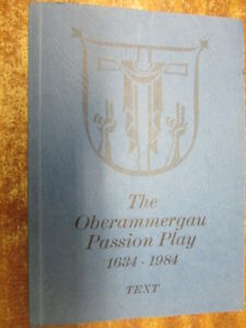 Acceptable-THE-OBERAMMERGAU-PASSION-PLAY-1634-1984-Father-Othmar-Weis-195