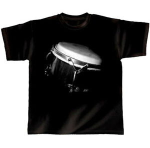 Rock-You-Drummer-Schlagzeug-T-Shirt-Lunar-Eclipse-XL-Geschenk-fuer-Schlagzeuger