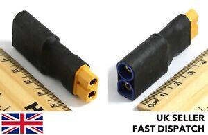 XT60-female-to-EC5-male-5mm-bullet-banana-adaptor-connector-plug-block-RC
