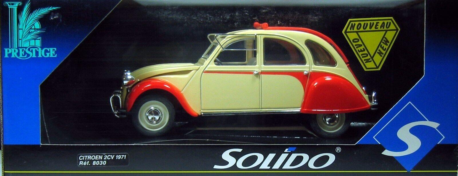SOLIDO 8030 CITROEN 2 CV bambolaY 1 17