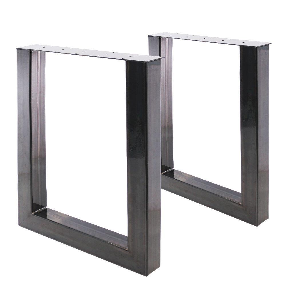 2U Tischbeine im U Design von Bentatec Home Esstisch Tisch Möbel Steel Loft