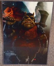 Patent Print Gamorrean Guard 1985 Star Wars Ready To Be Framed!