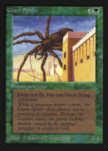 Giant Spider Collectors/' Edition HEAVILY PLD ABUGames