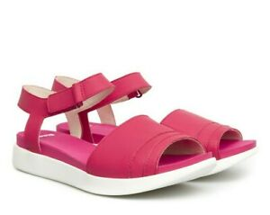 120-CAMPER-039-Miri-039-Bright-Pink-Leather-Sandals-38-7-5