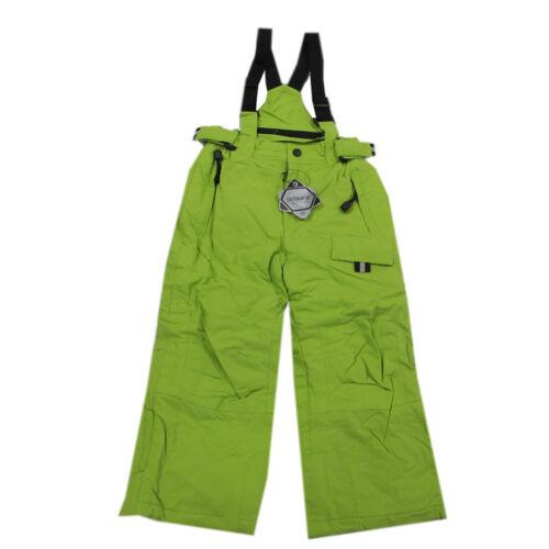 92,98,116,122,140 Outburst SKILATZHOSE Pantaloni Pantaloni Neve travi Pantaloni Unisex KIWI TG