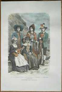 1878-Reclus-print-TYPES-AND-COSTUMES-OF-TYROL-AUSTRIA-16