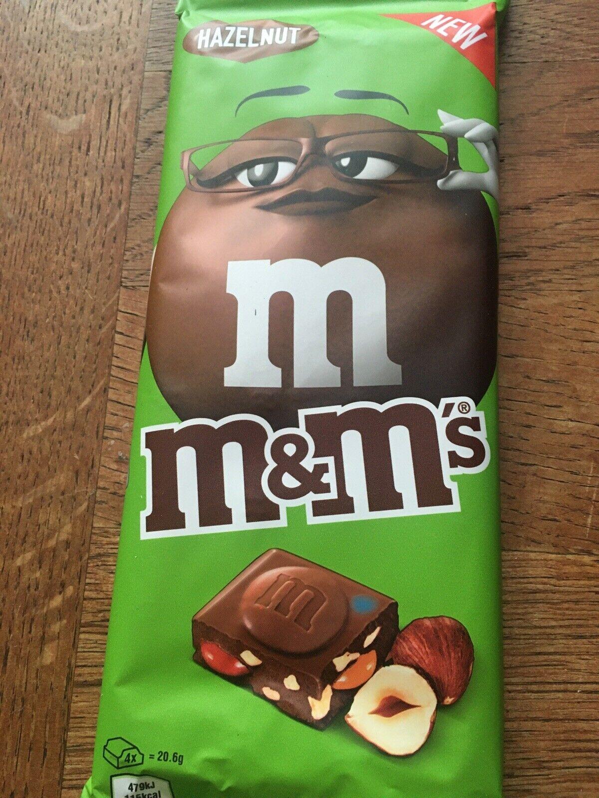 M M S Hazelnut Milk Chocolate Block Bar Edition 165g For Sale Online Ebay