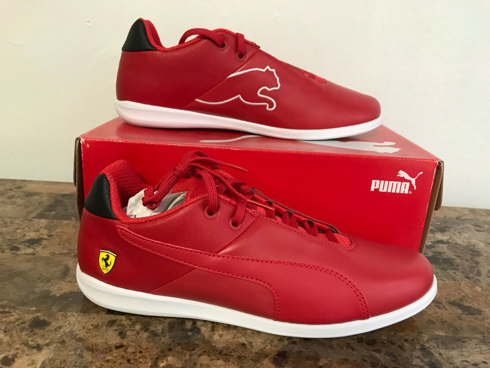Puma SF Future Cat Casual red Corsa Black Men's Casual Sneakers 7.5