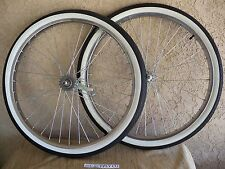 NEW 26''X 2.125 HEAVY DUTY SPOKES WHEEL SET WITH TIRES & TUBES FOR CRUISER, ETC.