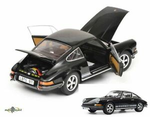 Porsche-911-S-Coupe-1973-Black-1-18-Schuco-Diecast