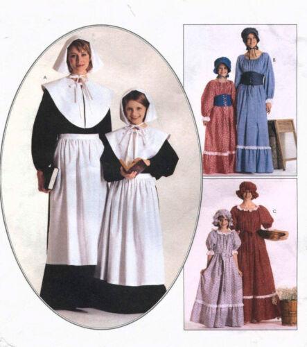 Misses Girls Pioneer Prairie Pattern Size Choice G7-14 M8-18 McCall/'s 2337 OOP