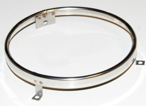 """Ford Mustang 69 Mach 1 Fairlane Lincoln Galaxie Cougar 5 3//4/"""" Headlight Ring NEW"""