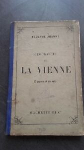 Geografia-La-Viena-A-Joanne-1881-Hachette-Paris-17-Impresion-ABE