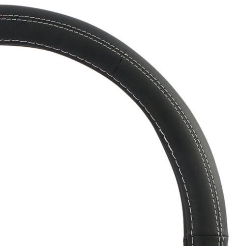 Bicast Leather Steering Wheel Cover 38cm Mitsubishi Lancer /& Sportsback