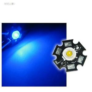 10x-Hochleistungs-LEDs-Chip-1W-BLAU-HIGHPOWER-STAR-LED-blue-bleu-blaue-Hipower
