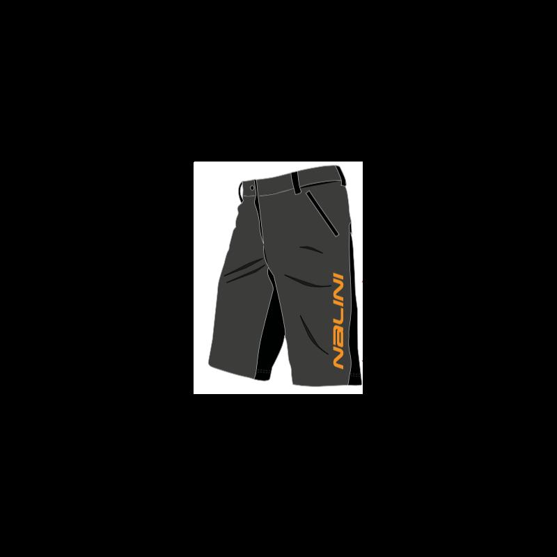 Shorts Nalini neu prime MTB noir Orange Größe XXXL