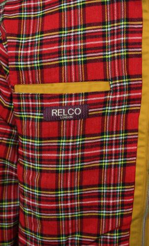 Relco Neu Senfgelb Harringtonjacke Skin Mod Roller Ska Northern Soul