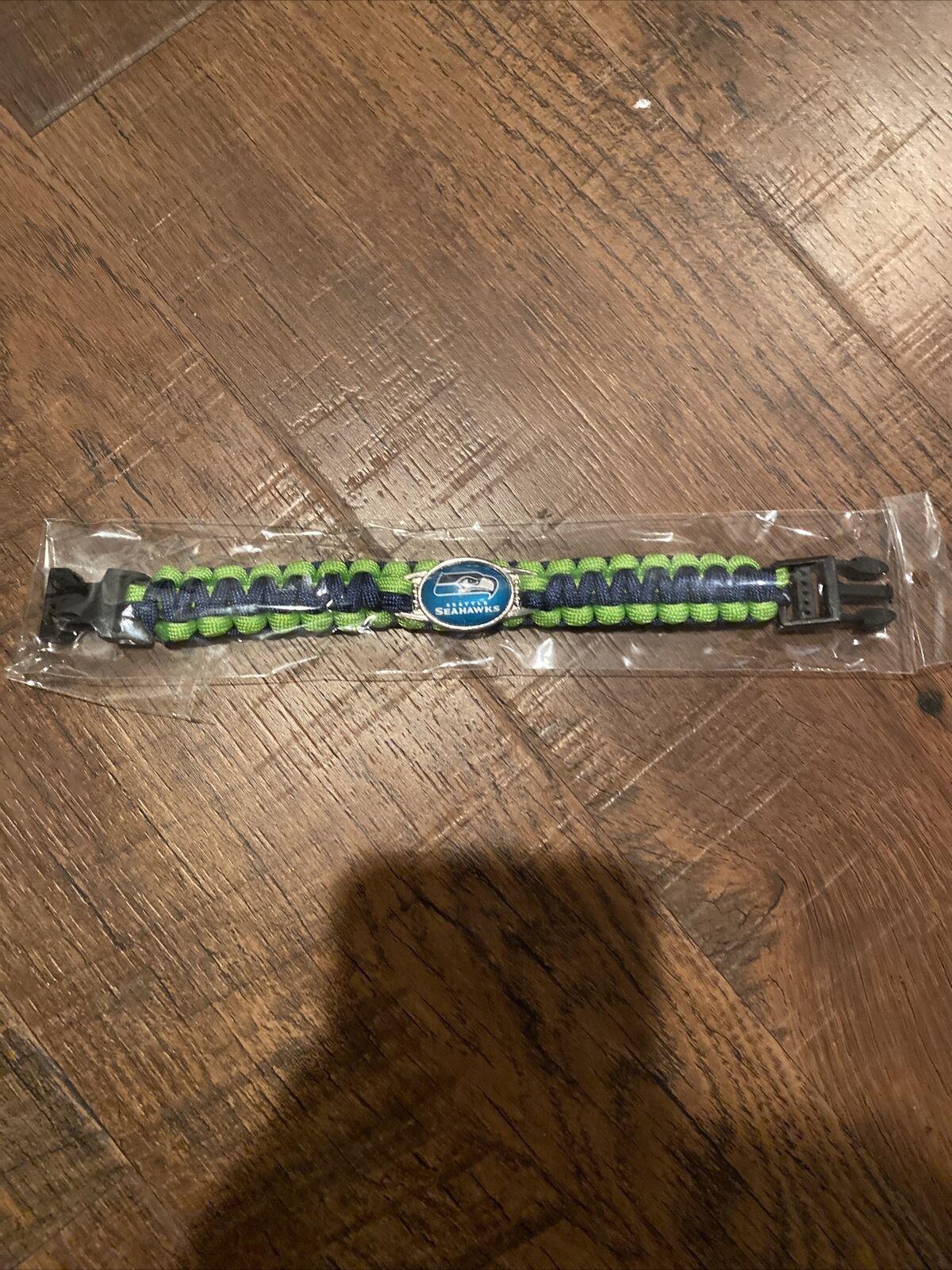 Green Seattle SeaHawks Bracelet