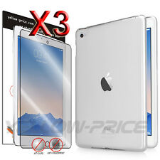 Apple iPad Air 2 /6G TPU Silicone Gel Skin Case Cover Built-In Screen Protectors