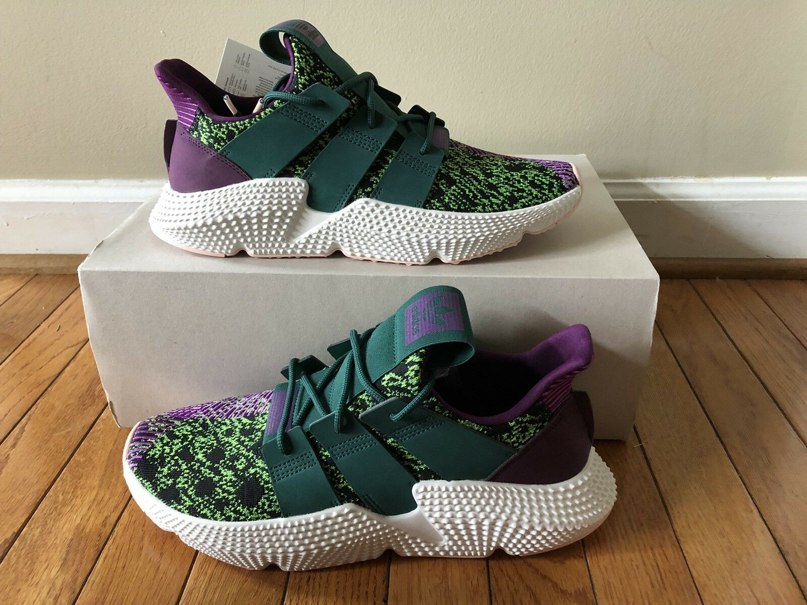 New Adidas x Dragon Ball Z DBZ Prophere shoes Sneakers  Cell (D97053)