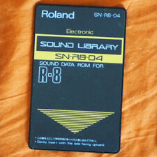 Roland R-8 Sound Data Card SN-R8-04 ELECTRONIC (TR-808 Sounds)