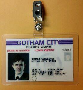 Gotham ID Badge - Oswald Cobblepot Penguin cosplay prop costume