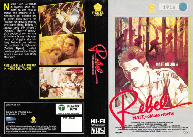 REBEL MATT, SOLDATO RIBELLE (1985) VHS