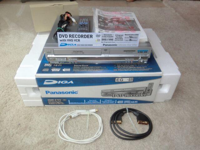Panasonic DMR-E75V DVD- / VHS-Videorecorder, OVP&NEU, 2 Jahre Garantie