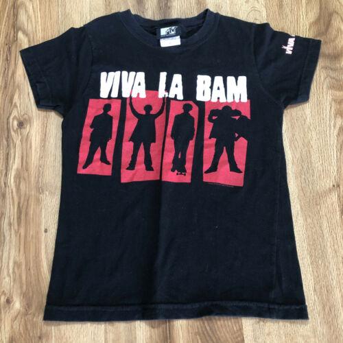 VTG 2004 VIVA LA BAM MARGERA TV SHOW T SHIRT KIDS