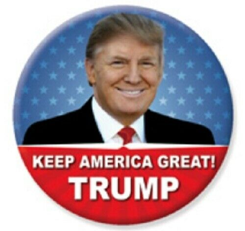 2020 Pro Donald Trump Keep America Great Button